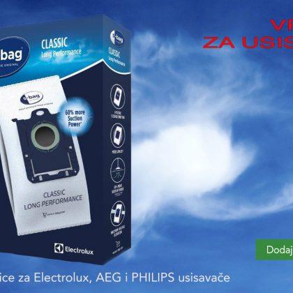 Vrećice E201S S-bag Classic